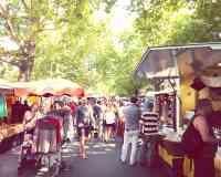 Wochenmarkt am Kollwitzplatz