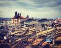 Prague Main Railway Station (Praha hlavní nádraží)