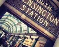 South Kensington London Underground Station
