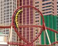 The Roller Coaster at New York-New York